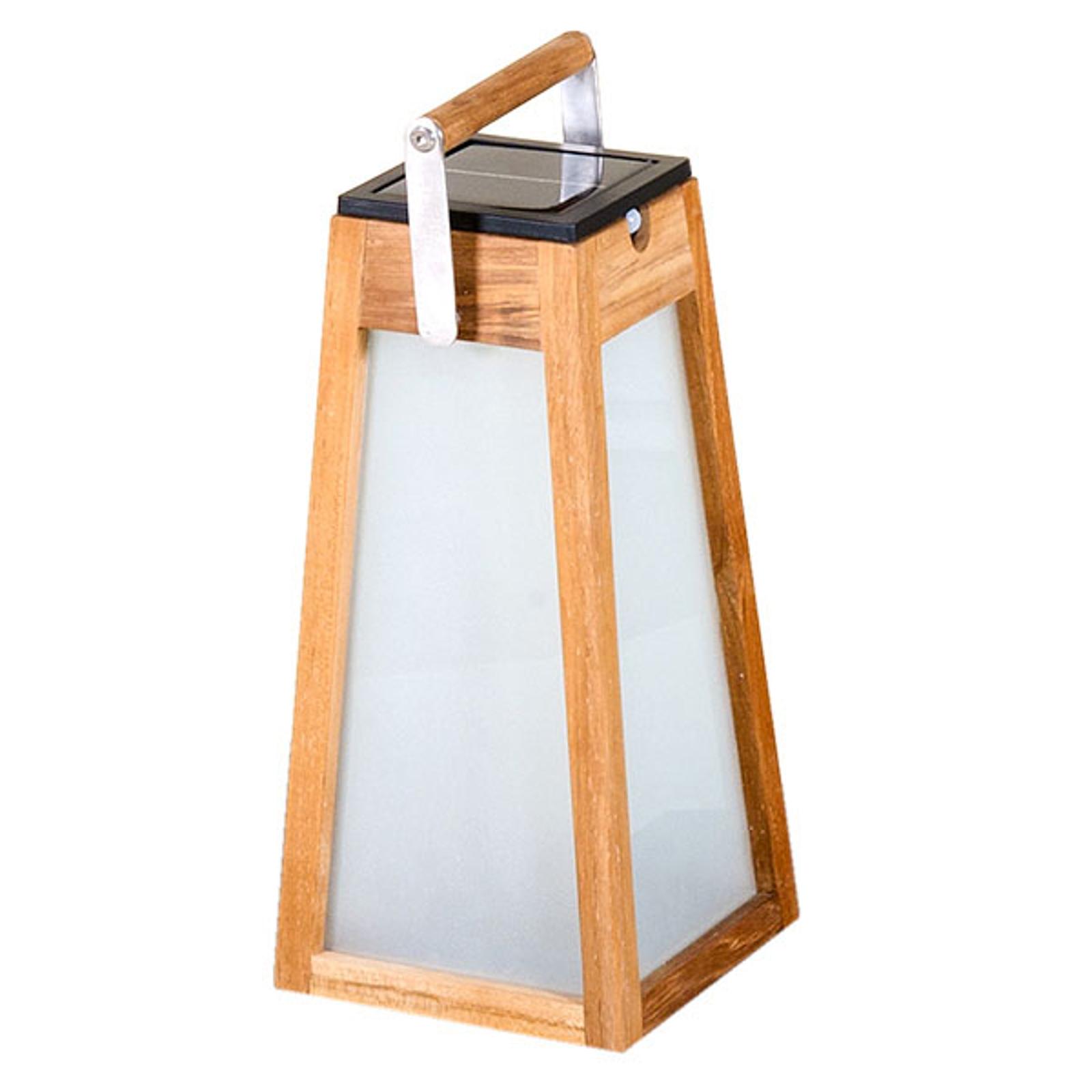 Aurinkokäyttöinen LED-lyhty Tecka tunnistin 38,8cm