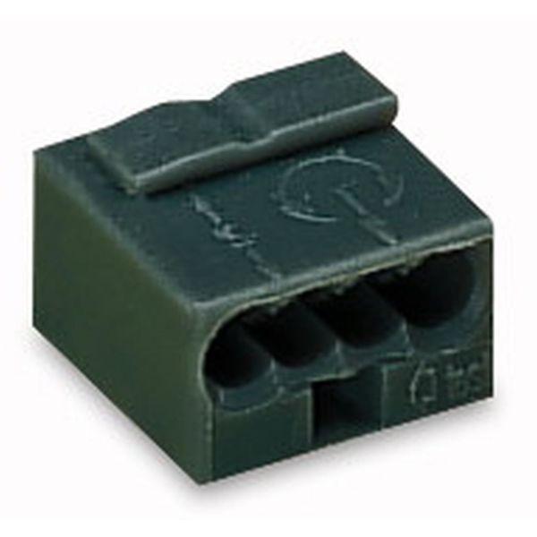 Wago 243-204 Kiristin 7 x 10 x 10 mm, 100 kpl/pakkaus Tummanharmaa