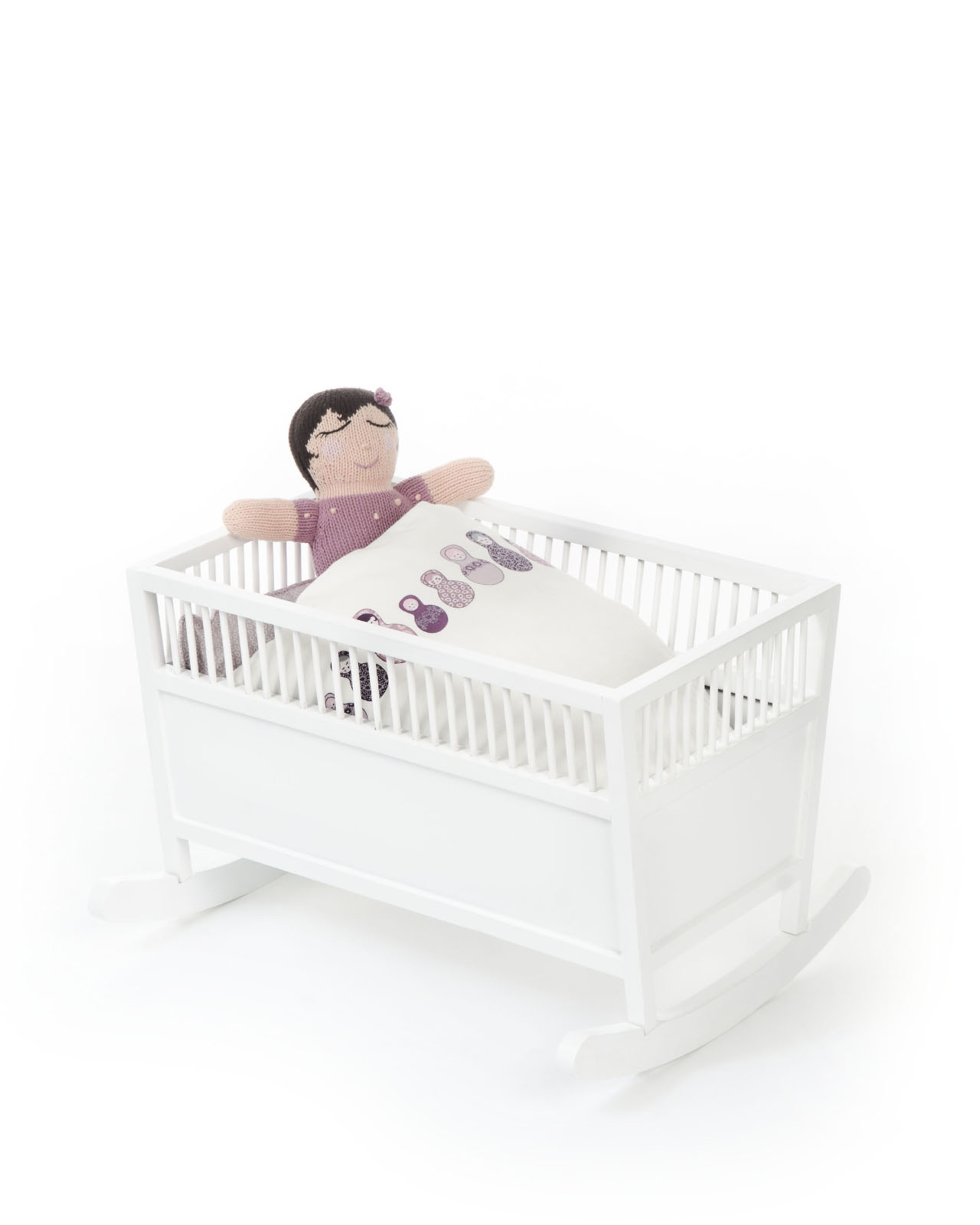 Smallstuff - Cradle, Rosaline - White (51002-02)