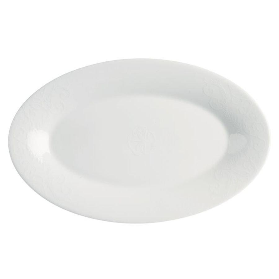 Porsgrunds Porselænsfabrik Zeleste Ovalfat 39 cm