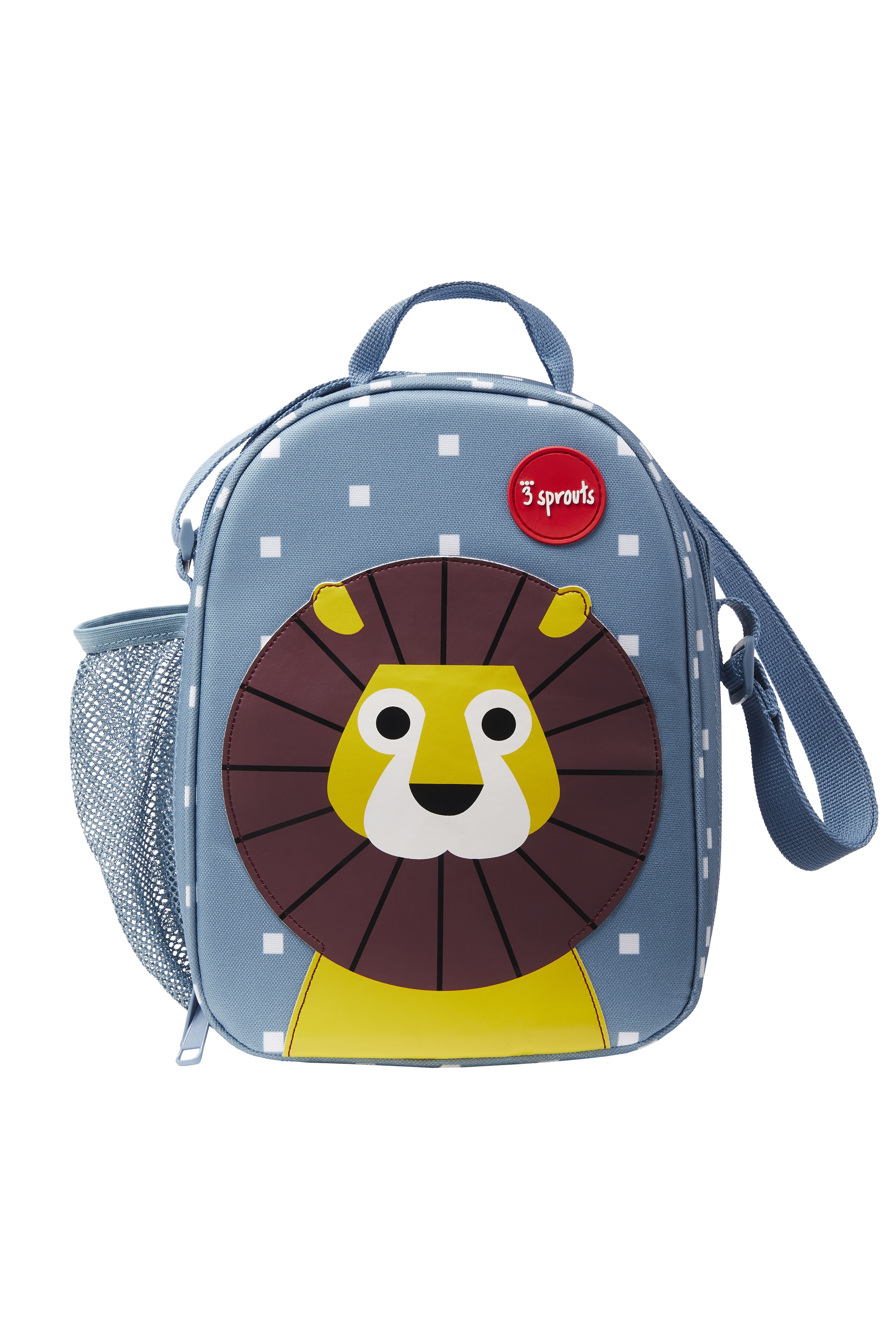 3 Sprouts - Lunch Bag - Blue Lion