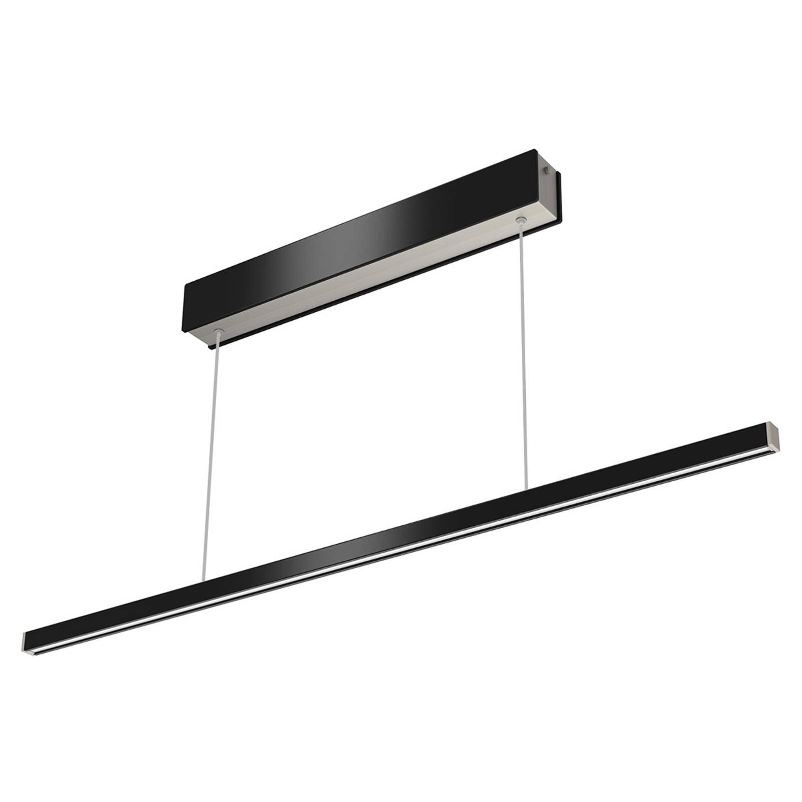 Kauko-ohjattava LED-riippuvalo Orix musta 90cm