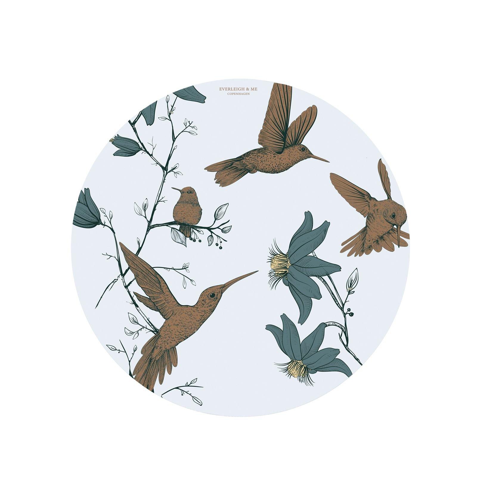 Everleigh & Me - Splat Mat, Hummingbird Blue (38HUMMINGBIRDBLUE)