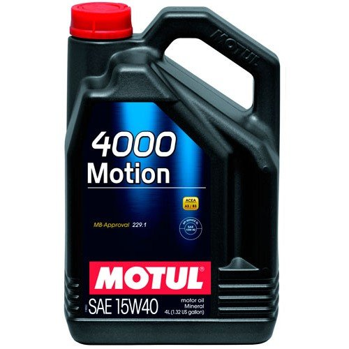 Moottoriöljy MOTUL 4000 MOTION 15W40 4L