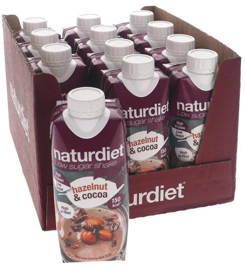 Måltidsersättning Shake Hazelnut & Cocoa 12-pack - 83% rabatt