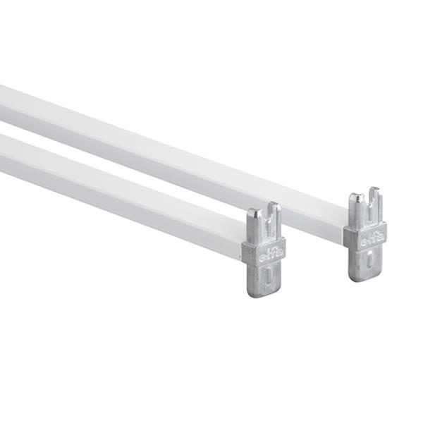 Elfa 214014 Påbyggingssett hvit Lengde: 450 mm