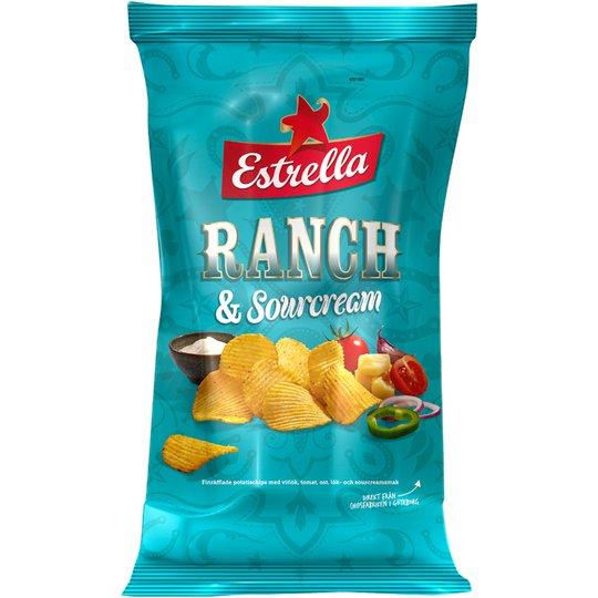 Chips Ranch & Sourcream 175g - 15% rabatt