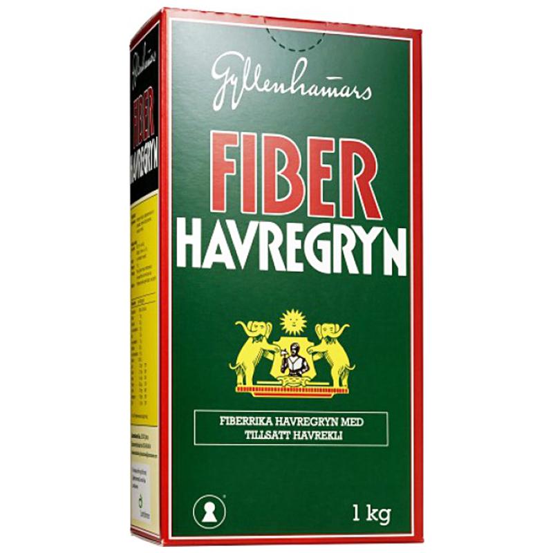 Fiberhavregryn 1kg - 56% rabatt