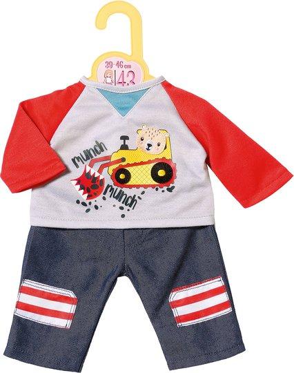 Baby Born Dolly Moda Trousers & Sweatshirt, 43 cm