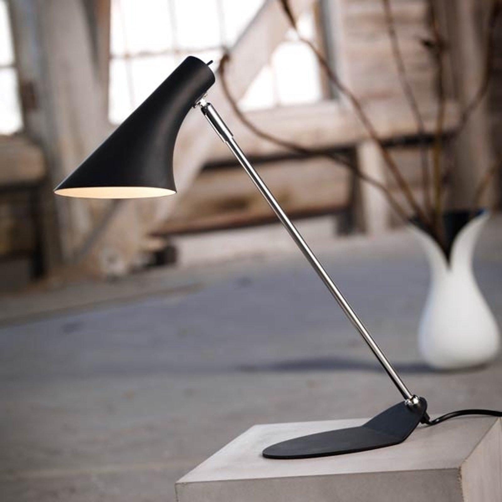 Trendy skrivebordslampe Liam svart