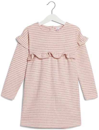 Luca & Lola Regina Kjole, Pink Stripes 86-92