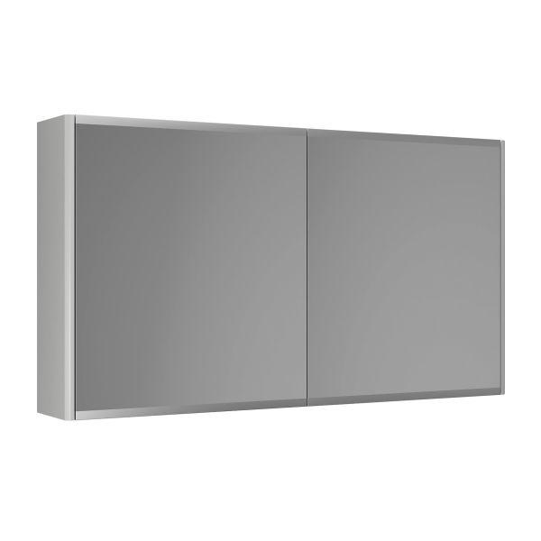 Gustavsberg Graphic Peilikaappi 100 cm, kaksipuolinen Harmaa