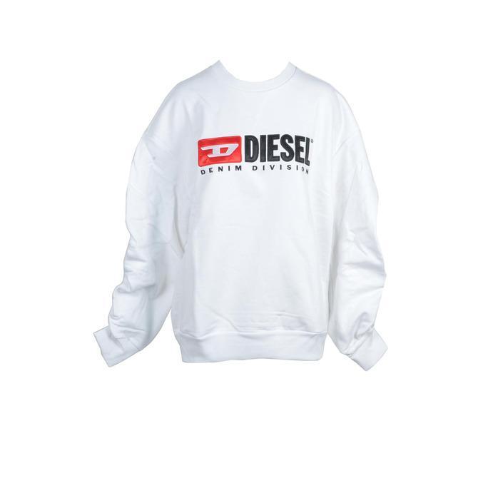 Diesel Women's Sweatshirt White 212282 - white L