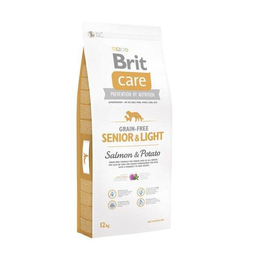 Brit Care Grain-free Senior & Light Salmon & Potato (12 kg)