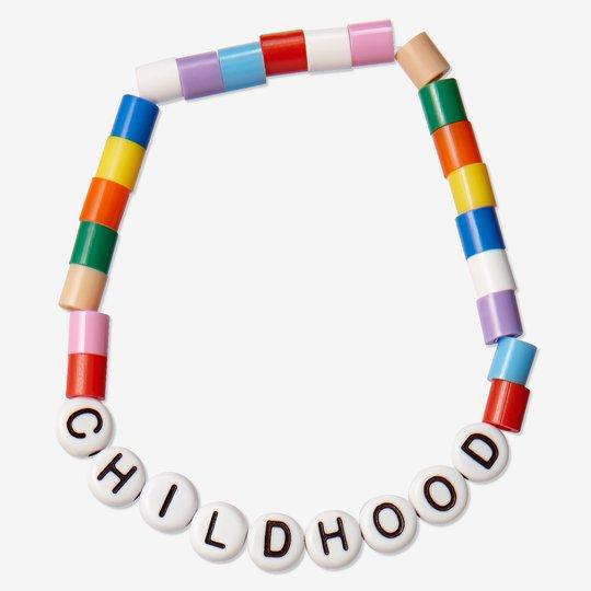 Childhood-armbånd voksen hvit