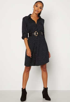 Happy Holly Felicity dress Black / Offwhite 32/34