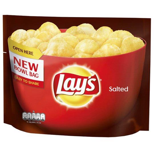 "Chips ""Salted"" 175g - 54% rabatt"
