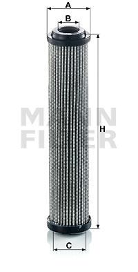 Suodatin, työhydrauliikka MANN-FILTER HD 5003