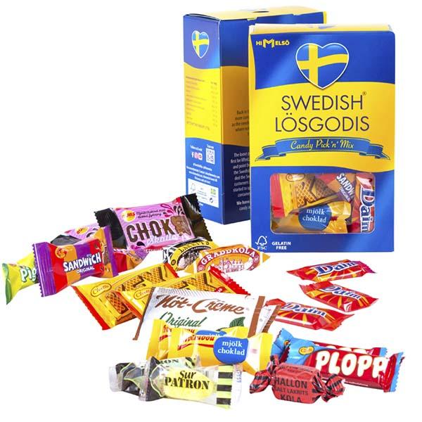 Swedish Fika - Candy Lösgodis 275g