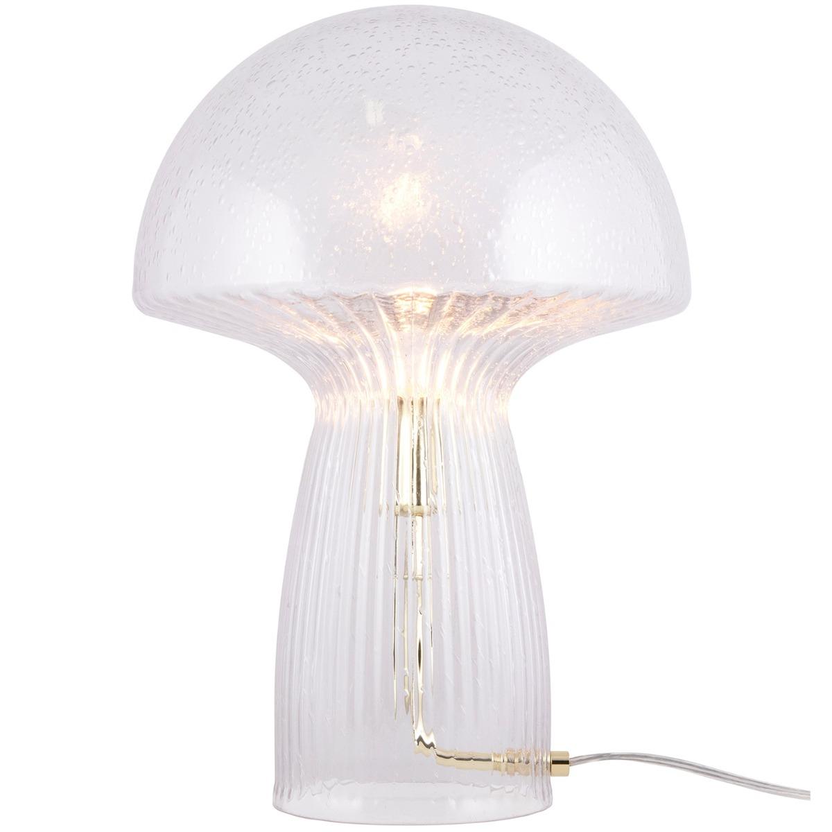 Globen Lighting Bordlampa Fungo 30cm Klar