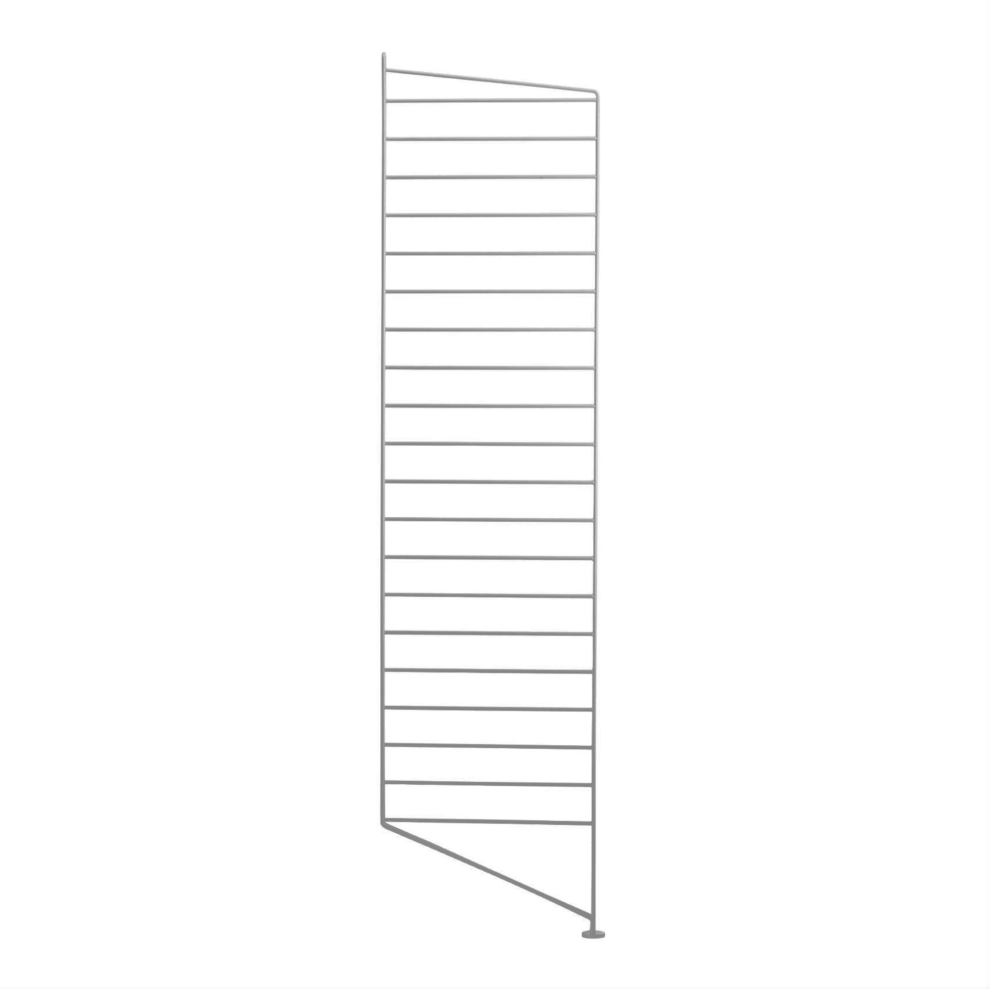 String Golvgavel 115x30 1-p grå