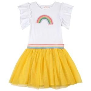 Billieblush Rainbow Klänning Vit 2 år
