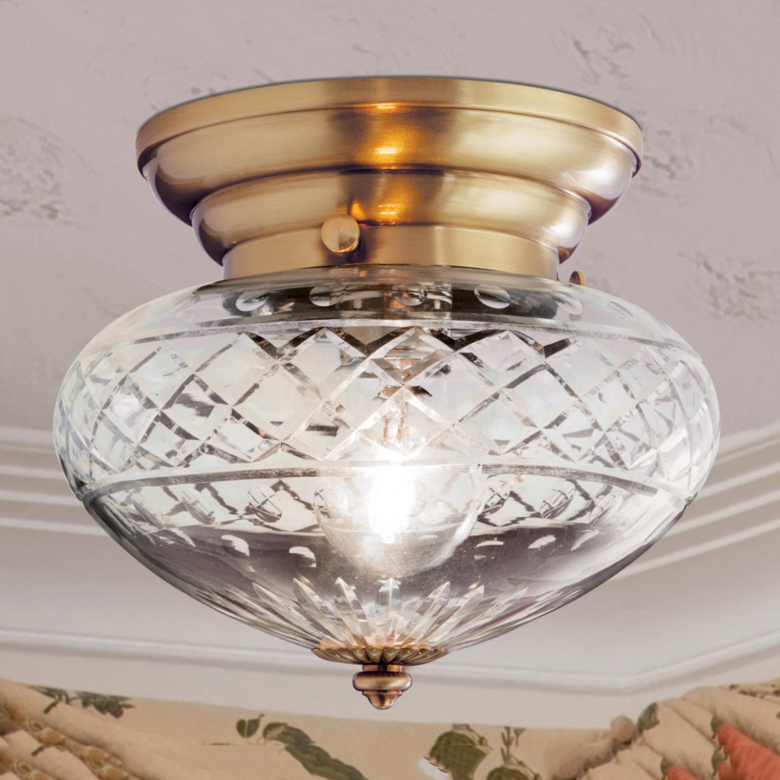 Sipulimainen kattovalaisin ENNA, 1 lamppuinen