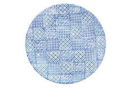 Tallerken Minerva Ø27,5cm, blå
