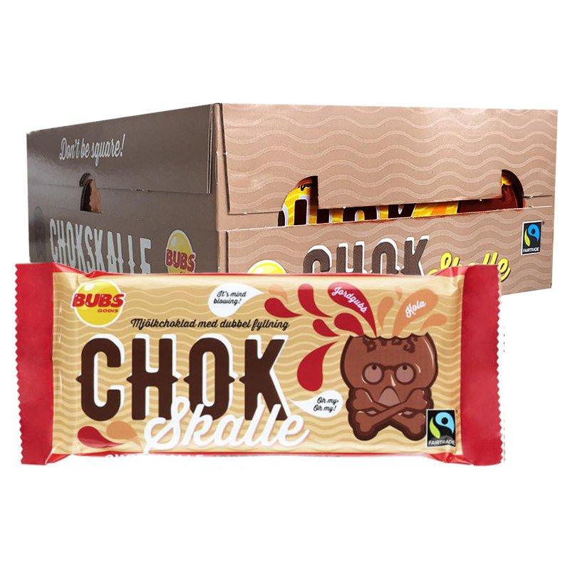Hel Låda Mjölkchoklad Jordgubb & Kola 20 x 100g - 67% rabatt