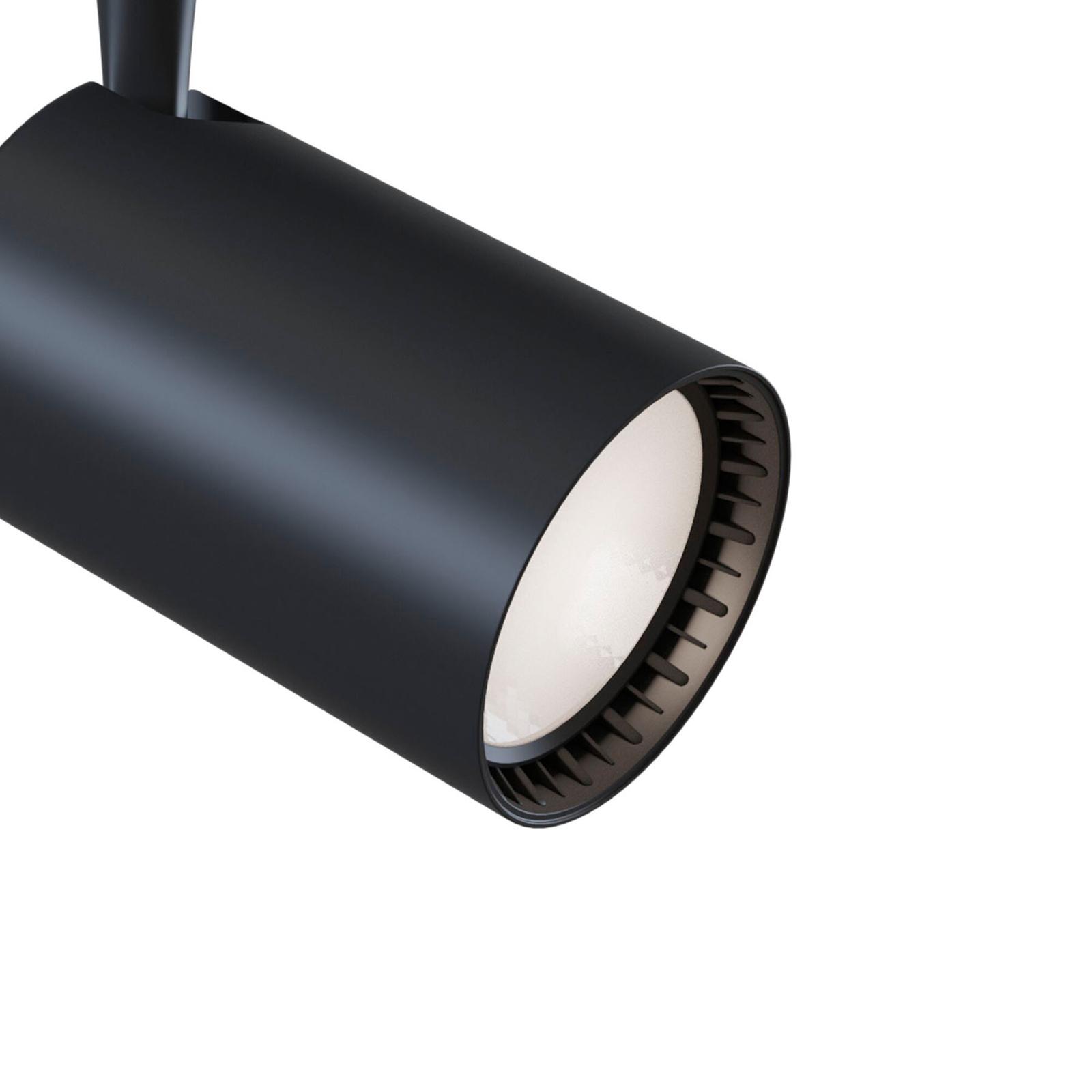 Track-kiskospotti LED 4000K musta 1200lm17W