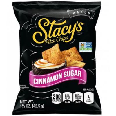 Stacys Pita Chips Cinnamon Sugar 42.5g