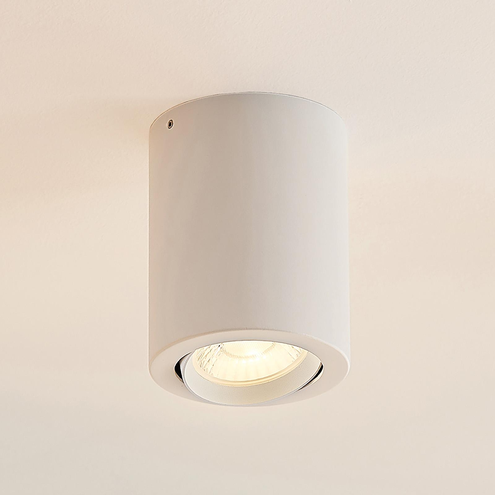 Arcchio Bircan -LED-alasvalo, alumiinia, 4,8 W