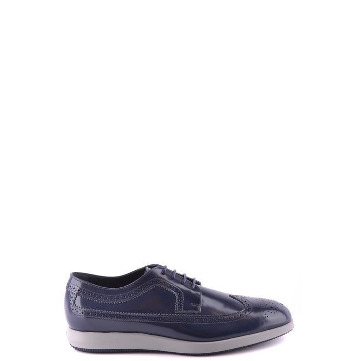 Hogan Men's Lace Ups Shoes Blue 188797 - blue 10