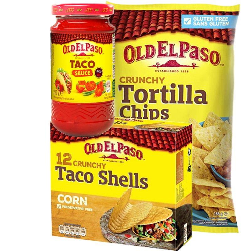 Taco-paketti - 80% alennus