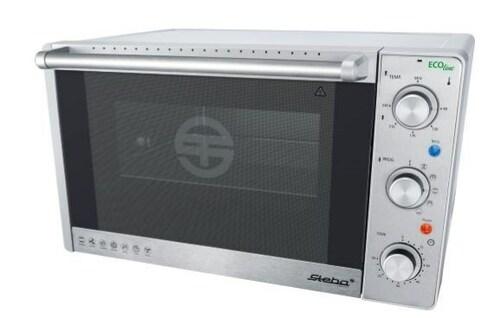 Steba Kb41eco Oven Rotary Spit Silver 2000 Watt Miniugn -