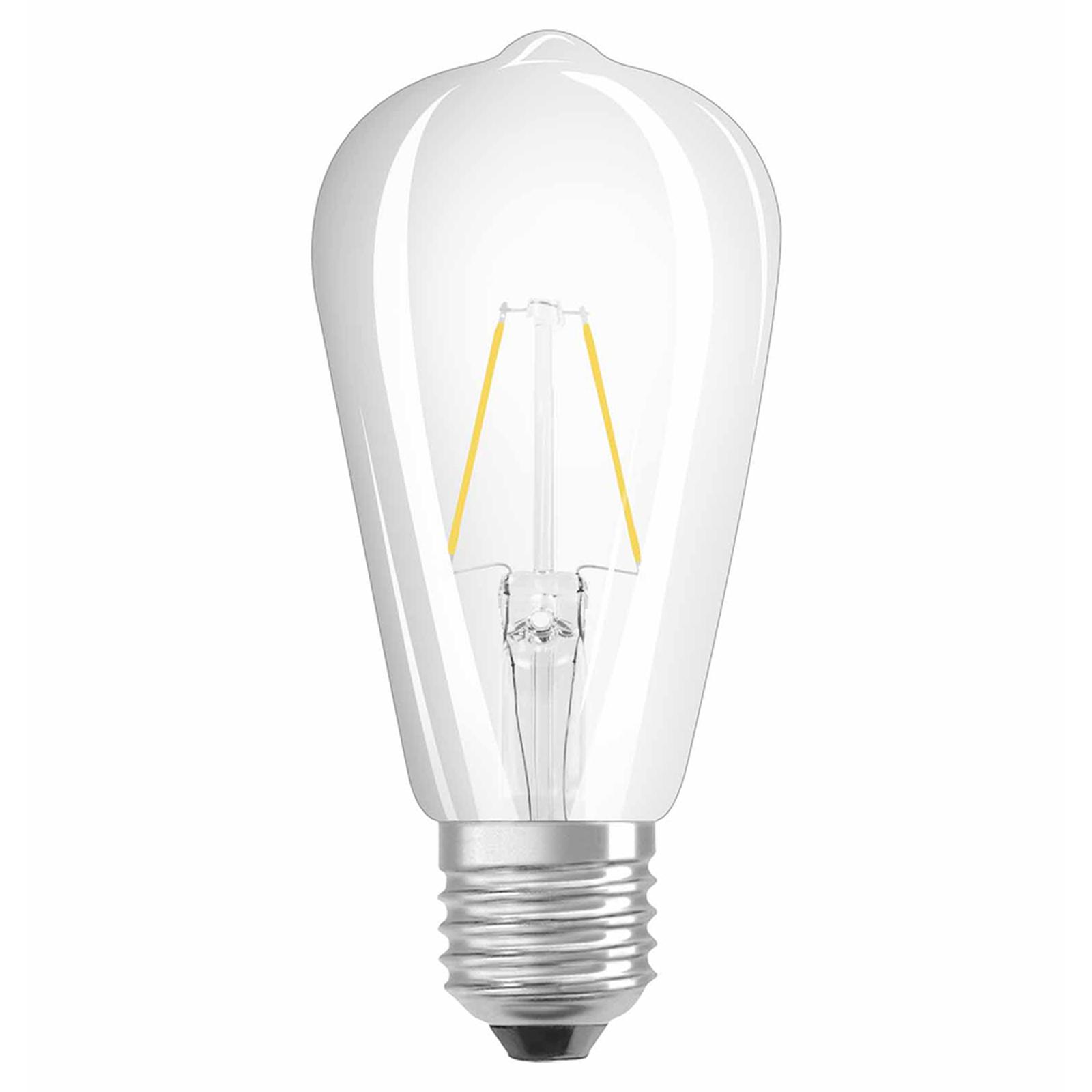 OSRAM-LED-lamppu E27 2,5W Rustica 827 kirkas