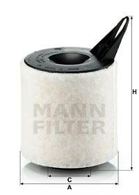 Ilmansuodatin MANN-FILTER C 1370