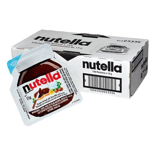 Nutella Portionsförpackning - 120-pack