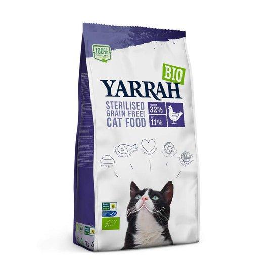Yarrah Organic Cat Sterilised Grain Free 2 kg