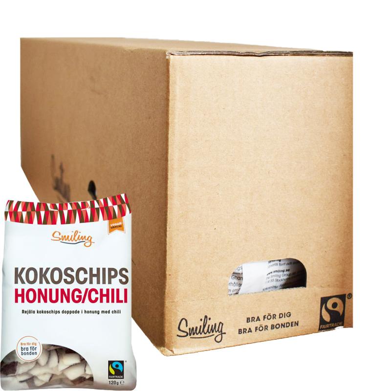 Kokoschips Chili & Honung 6-pack - 50% rabatt