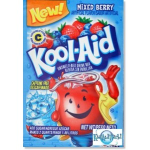 Kool-Aid Soft Drink Mix - Mixed Berry