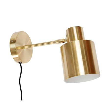 Vegglampe 29x12xh17 cm - Messing