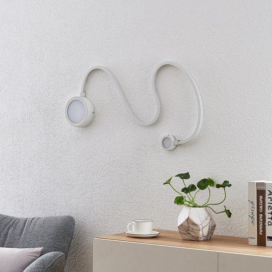 Lindby Rion -LED-seinävalaisin, valkoinen