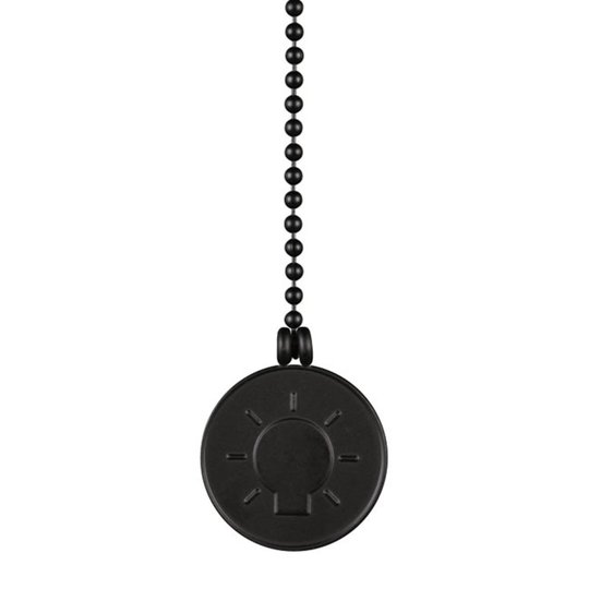 Westinghouse lamput medaljonki vetokettinki musta