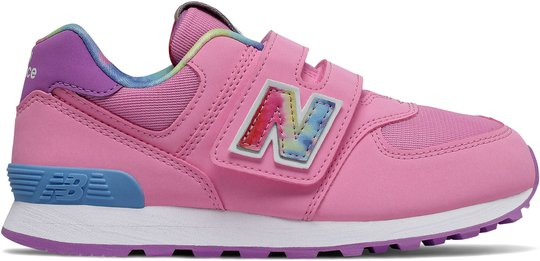New Balance 574 Sneaker, Candy Pink, 32