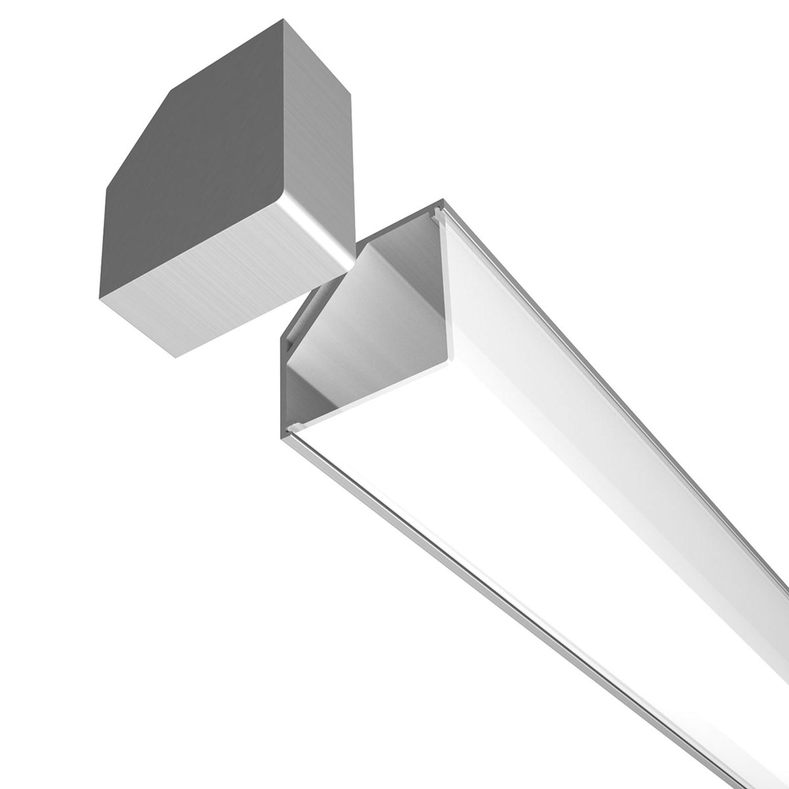 E45-alumiinikulmaprofiilin päätysuojus