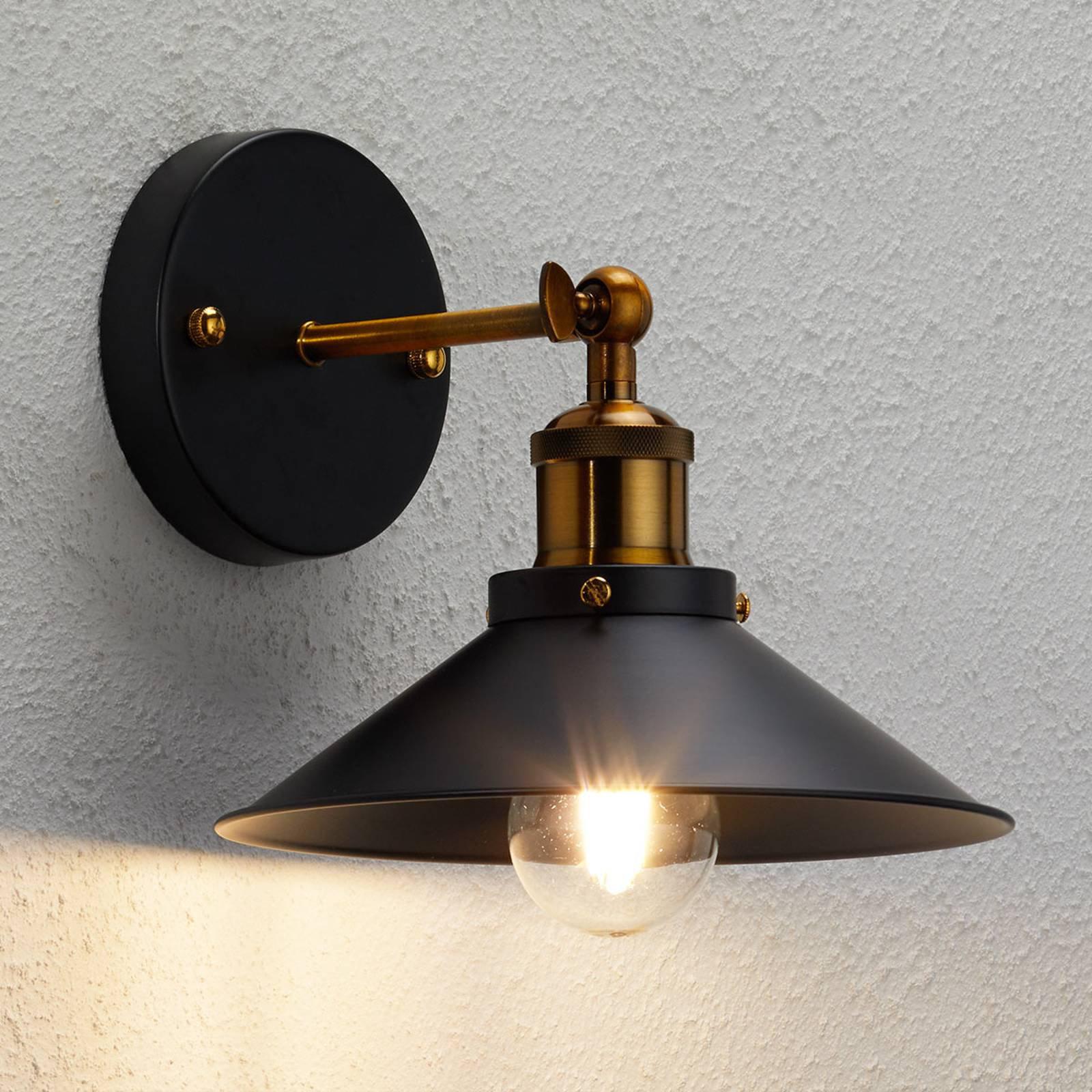 Vegglampe Viktor i industriell stil