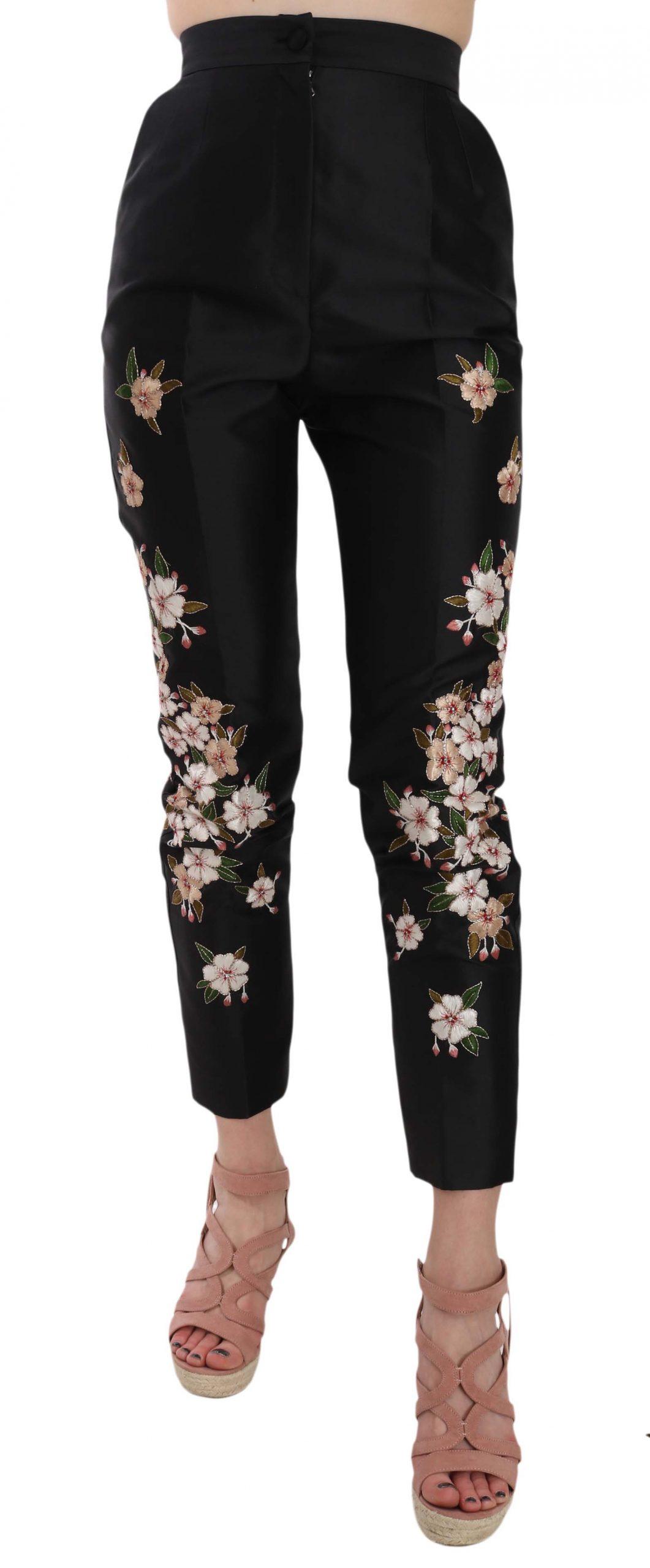 Dolce & Gabbana Women's Trouser Black BYX1348 - IT40|S