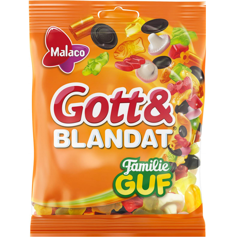 "Godismix ""Gott & Blandat Familie Guf"" 210g - 47% rabatt"