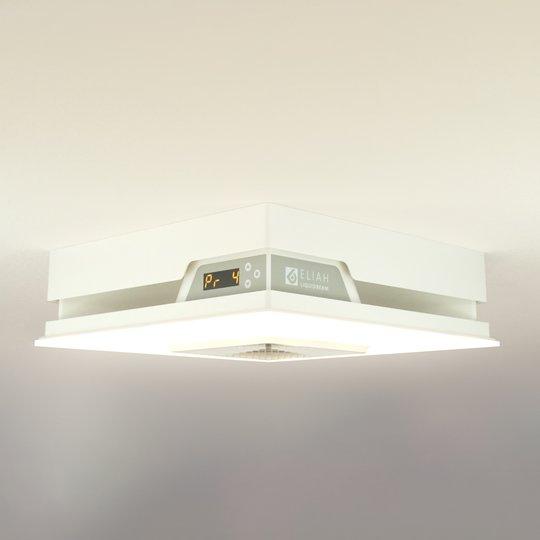 Eliah-LED-kattovalaisin lämmitystoiminnolla